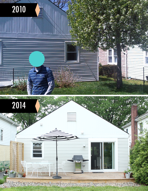 Before + After - Backyard Redo