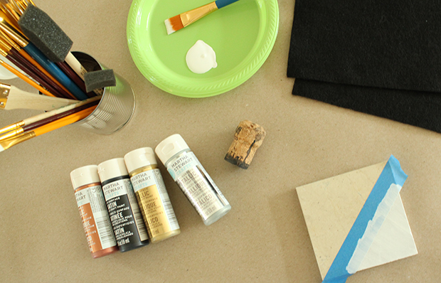 DIY Painted Stone Coasters - Raised by Design