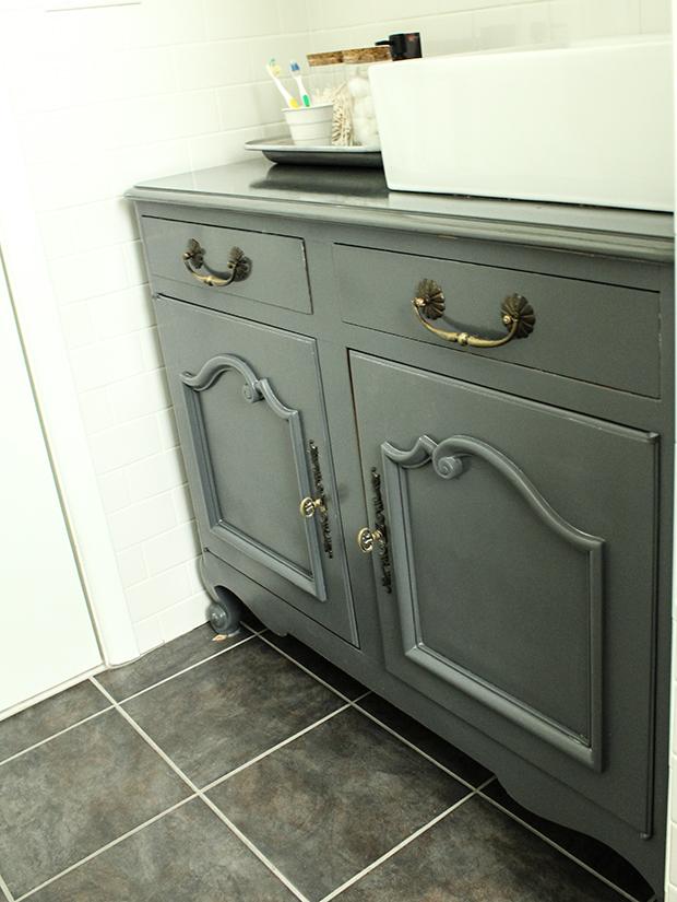 raised by design - bathroom renovation - vanity redo