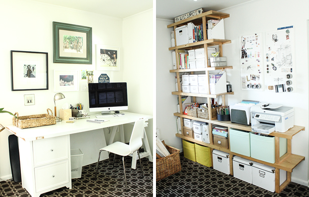 raised by design - maggie natarelli - home office