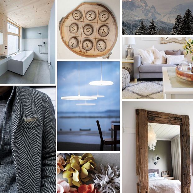 Raised by Design - Jo + Joe's Tribeca Highrise - Wintery Palette Mood Board