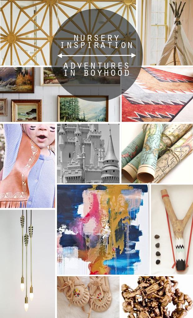 raised by design - nursery inspiration moldboard adventures in boyhood