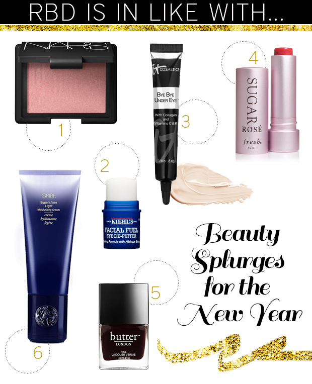 beauty splurges for the new year
